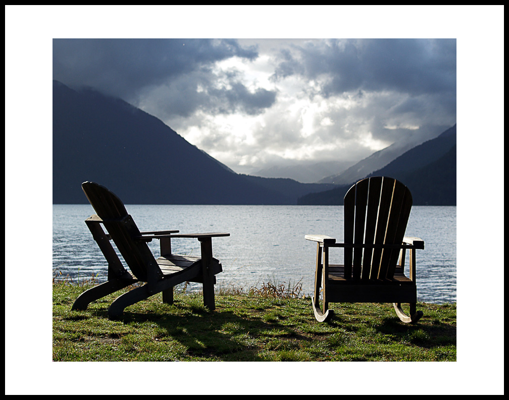 adirondack chairs lake crescent