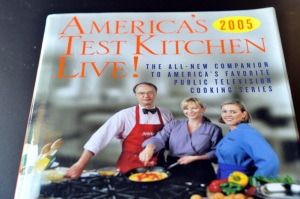 America's Test Kitchen Cookbook 2005 cover