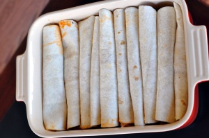 Filled tortillas
