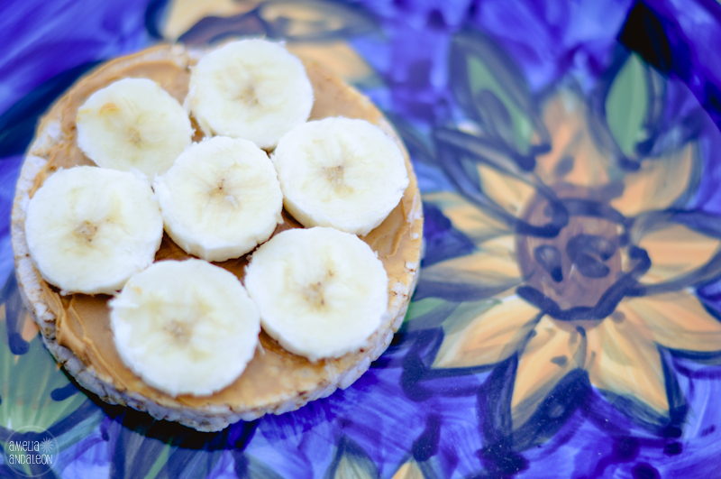 how to make peanut butter rice cakes
