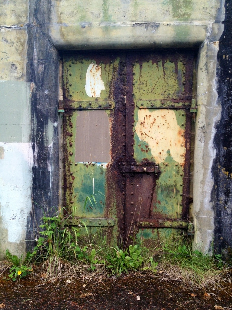 365 Project 141 Rusty Bunker Door Fort Warden Port